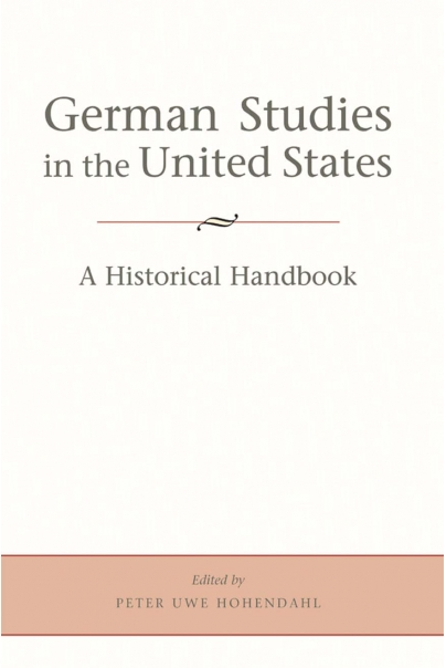German Studies in the United States Cover
