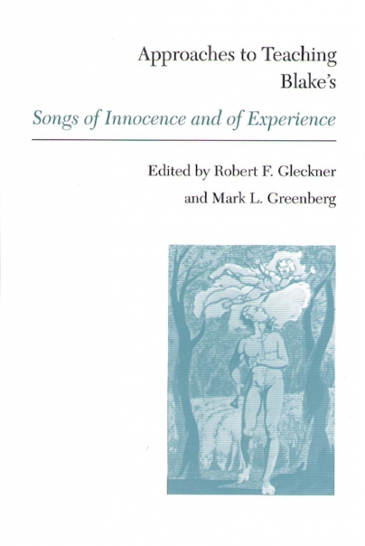 Approaches to Teaching Blake's Songs of Innocence and of Experience Cover