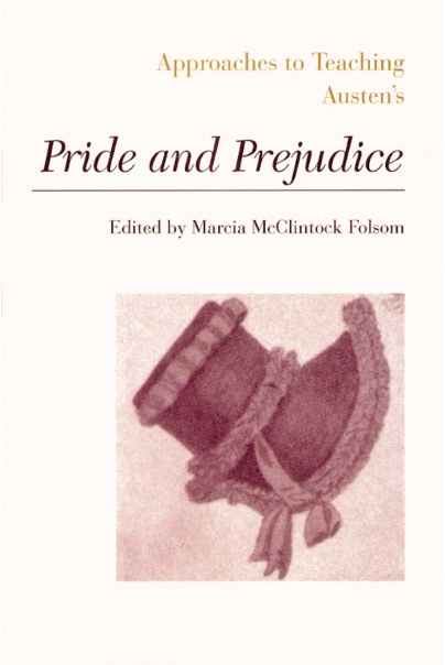 Approaches to Teaching Austen's Pride and Prejudice Cover