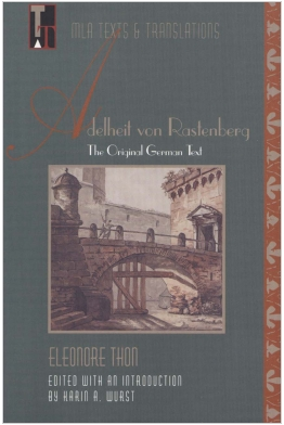 Adelheit von Rastenberg: The Original German Text Cover
