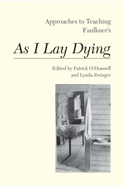 Approaches to Teaching Faulkners As I Lay Dying Cover