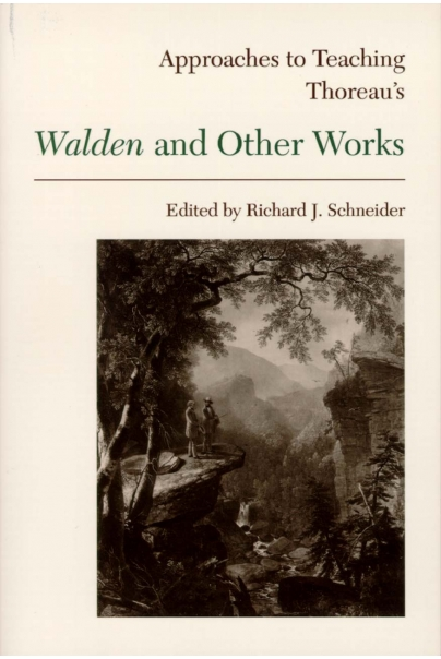 Approaches to Teaching Thoreau's Walden and Other Works Cover
