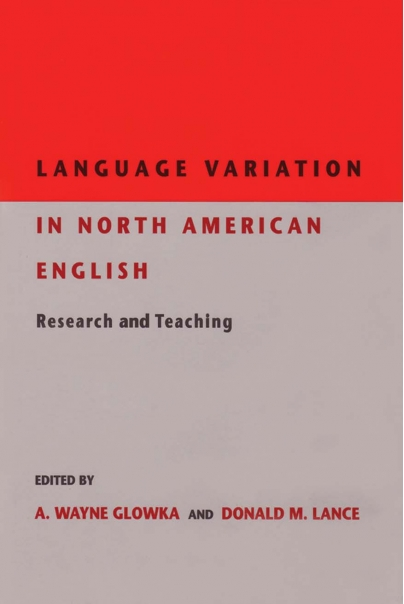 Language Variation in North American English Cover