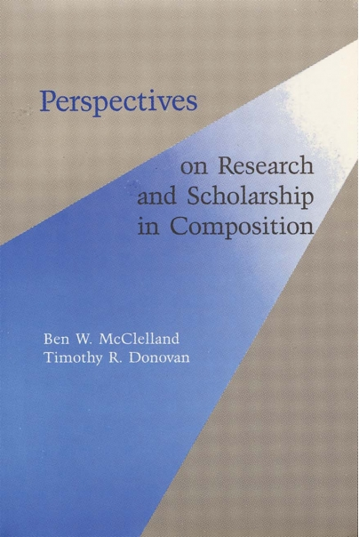 Perspectives on Research and Scholarship in Composition Cover