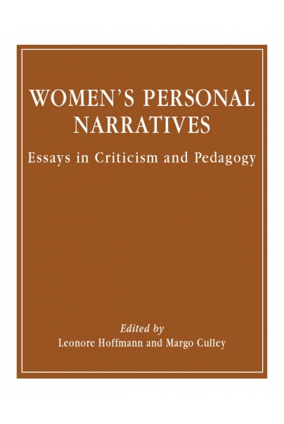 Women's Personal Narratives Cover