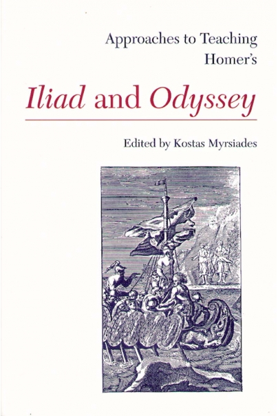 Approaches to Teaching Homer's Iliad and Odyssey Cover