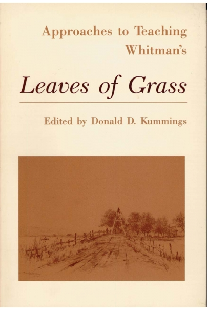 Approaches to Teaching Whitman's Leaves of Grass Cover