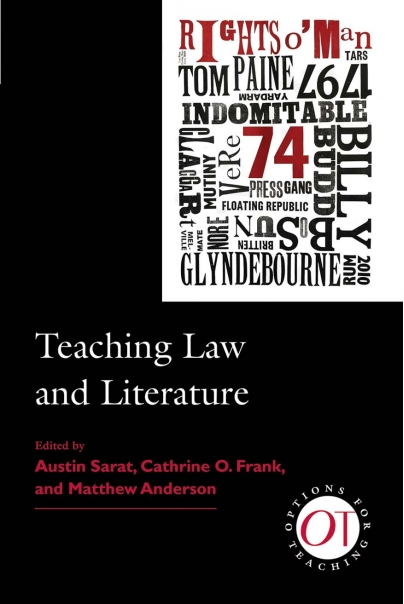 Teaching Law and Literature Cover