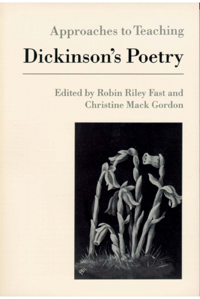 Approaches to Teaching Dickinson's Poetry Cover