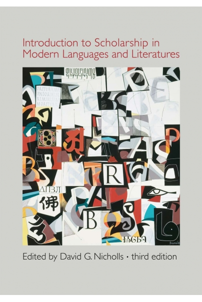 Introduction to Scholarship in Modern Languages and Literatures Cover