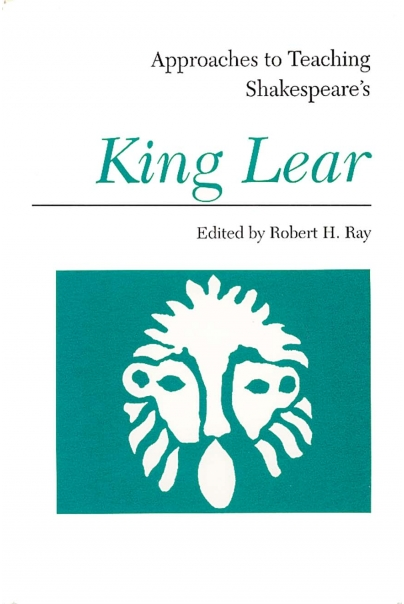 Approaches to Teaching Shakespeare's King Lear Cover