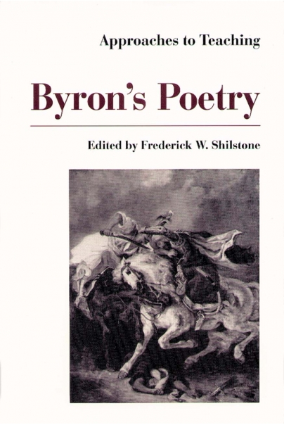 Approaches to Teaching Byron's Poetry Cover
