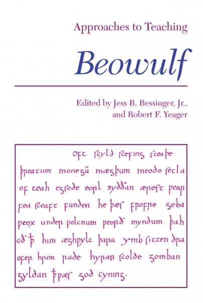 Approaches to Teaching Beowulf Cover