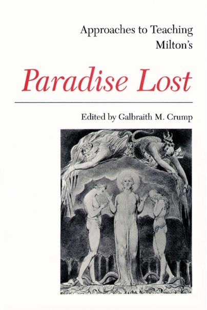 Approaches to Teaching Milton's Paradise Lost Cover