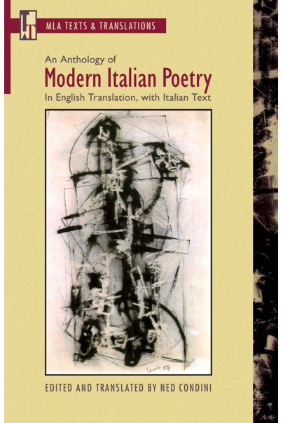 An Anthology of Modern Italian Poetry Cover