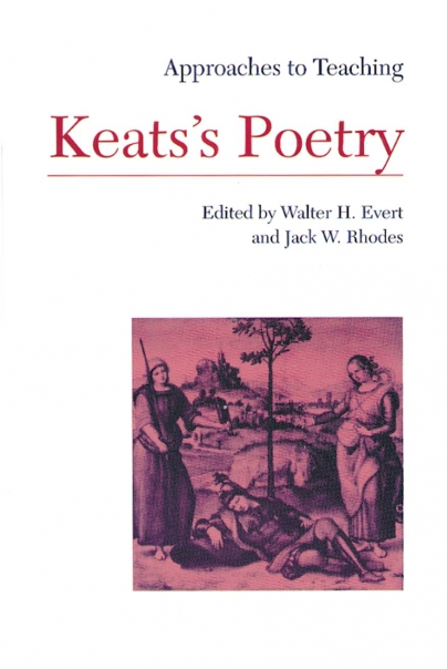 Approaches to Teaching Keats's Poetry Cover