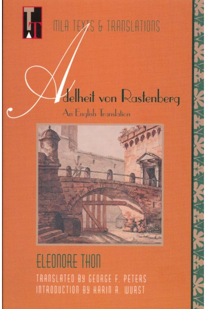 Adelheit von Rastenberg: An English Translation Cover