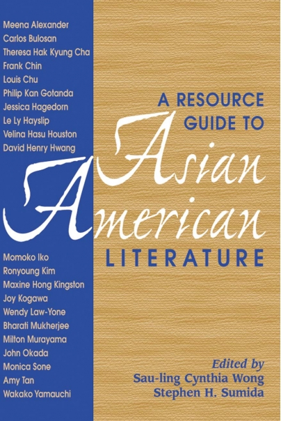 A Resource Guide to Asian American Literature Cover