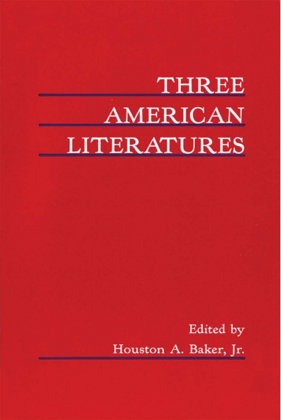 Three American Literatures Cover