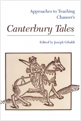 Approaches to Teaching Chaucer's Canterbury Tales Cover