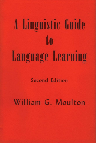 A Linguistic Guide to Language Learning (2nd edition) Cover
