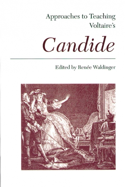 Approaches to Teaching Voltaire's Candide Cover