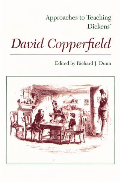 Approaches to Teaching Dickens' David Copperfield Cover