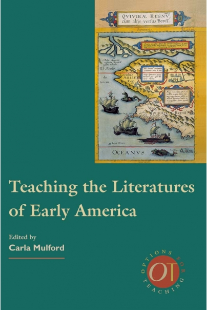 Teaching the Literatures of Early America Cover