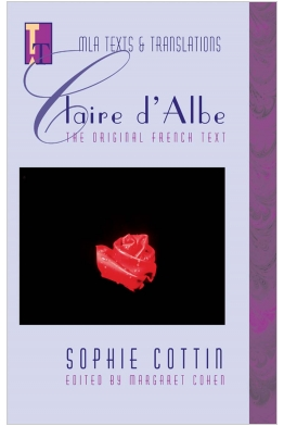 Claire d'Albe: The Original French Text Cover