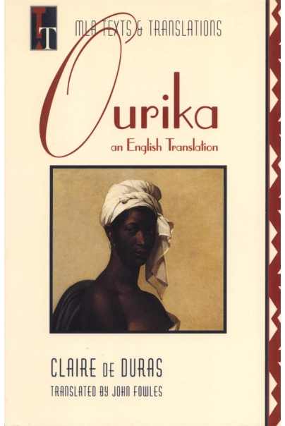 Ourika: An English Translation Cover