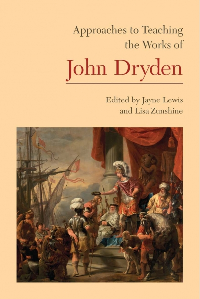 Approaches to Teaching the Works of John Dryden Cover
