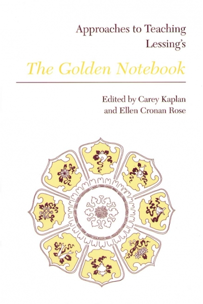Approaches to Teaching Lessing's The Golden Notebook Cover