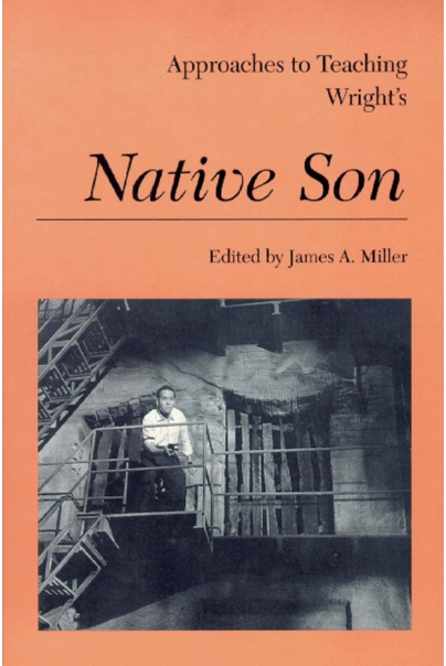Approaches to Teaching Wright's Native Son Cover