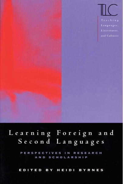 Learning Foreign and Second Languages Cover