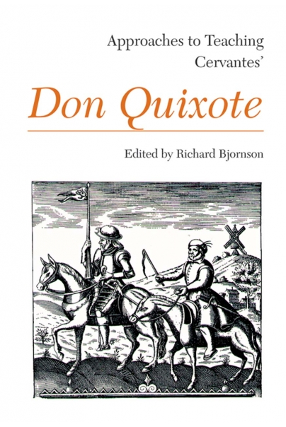 Approaches to Teaching Cervantes' Don Quixote Cover