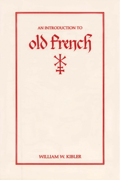 An Introduction to Old French Cover