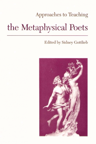 Approaches to Teaching the Metaphysical Poets Cover
