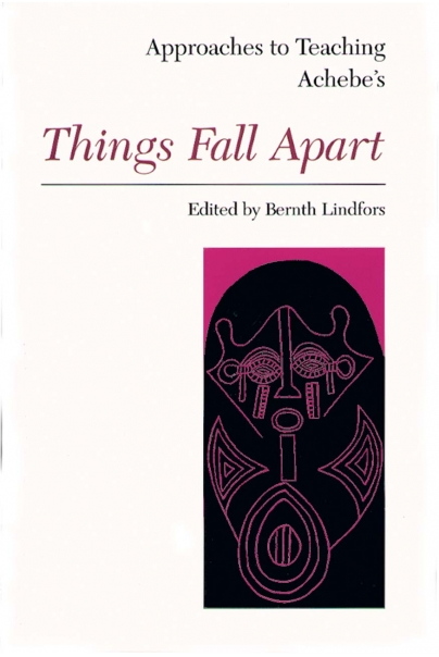 Approaches to Teaching Achebe's Things Fall Apart Cover