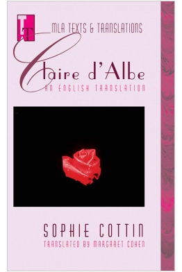 Claire d'Albe: An English Translation Cover