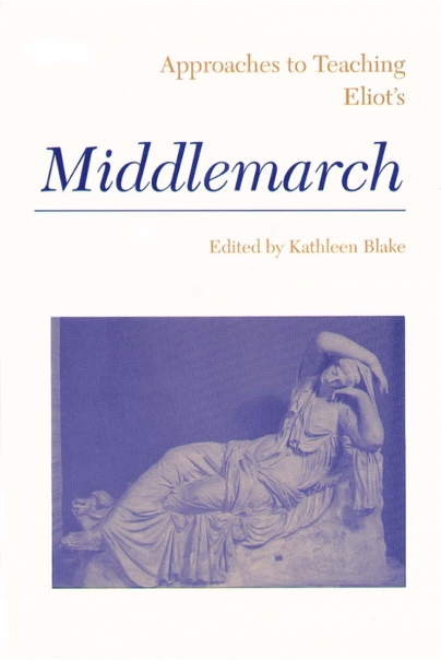 Approaches to Teaching Eliot's Middlemarch Cover