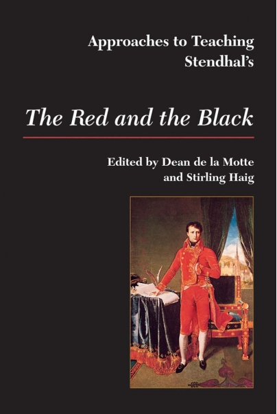 Approaches to Teaching Stendhal's The Red and the Black Cover