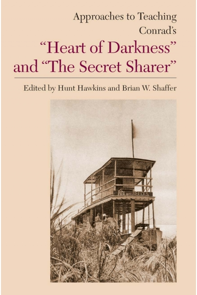 "Approaches to Teaching Conrad's ""Heart of Darkness"" and ""The Secret Sharer"" Cover"