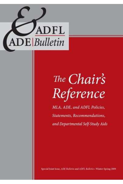 The Chair's Reference Cover