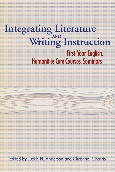 Integrating Literature and Writing Instruction Cover