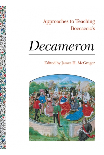 Approaches to Teaching Boccaccio's Decameron Cover