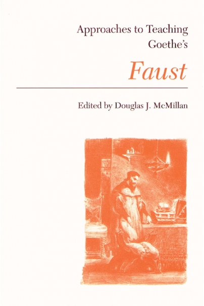 Approaches to Teaching Goethe's Faust Cover