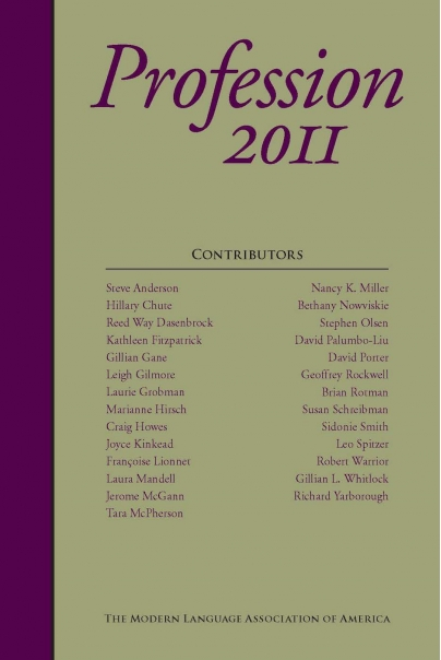 Profession 2011 Cover