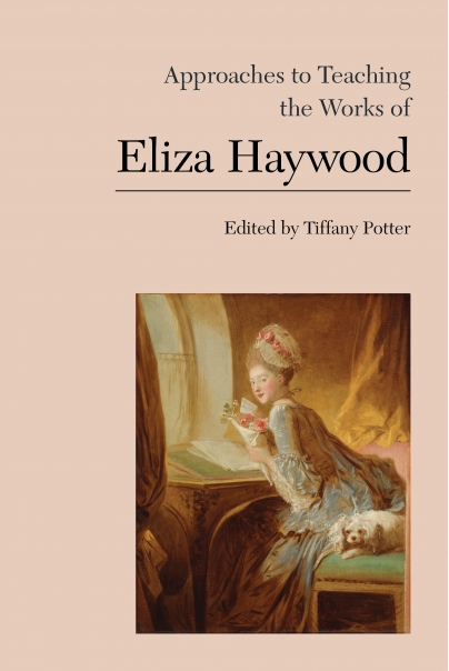 approaches to teaching the works of eliza haywood